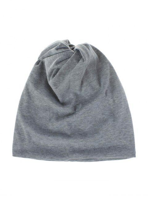 women Casual Elastic Multifunction Scarf Hat - LIGHT GRAY  Mobile