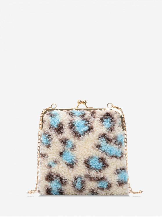 เสือดาวหนังกระเป๋าสะพายโซ่ - คริสตัลบลู