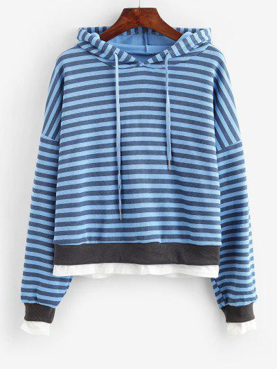 Striped Knit Hoodie - from $14.73