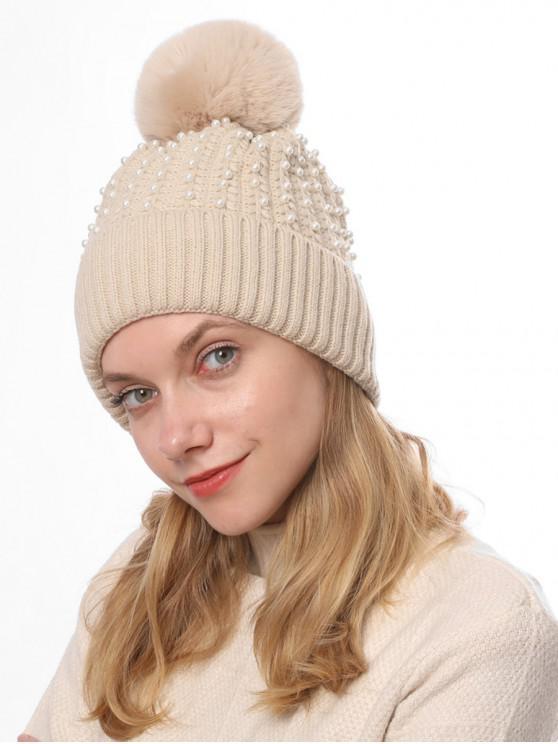 Cappellino Pearl Decorare Inverno - Beige