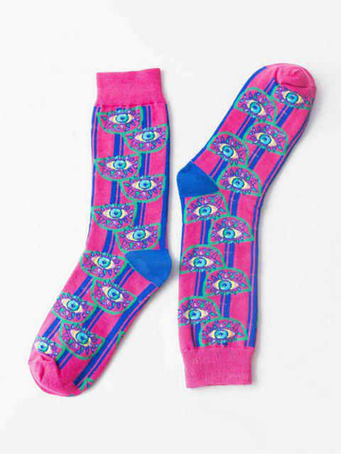 outfits Hip-hop Street Crew Length Socks - RED  Mobile