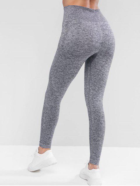體育拉固高腰底褲 - 灰色 M Mobile
