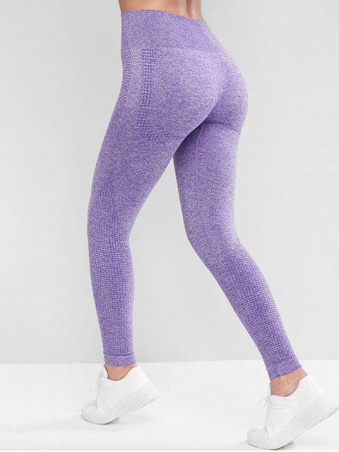 體育拉固高腰底褲 - 紫色 L Mobile