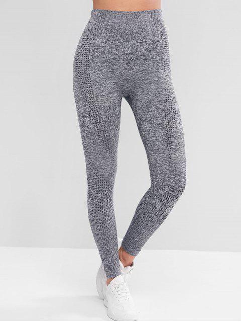 體育拉固高腰底褲 - 灰色 L Mobile