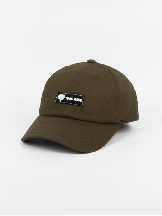 buy Pilot Peaked Glasses Decorated Hat - ARMY GREEN