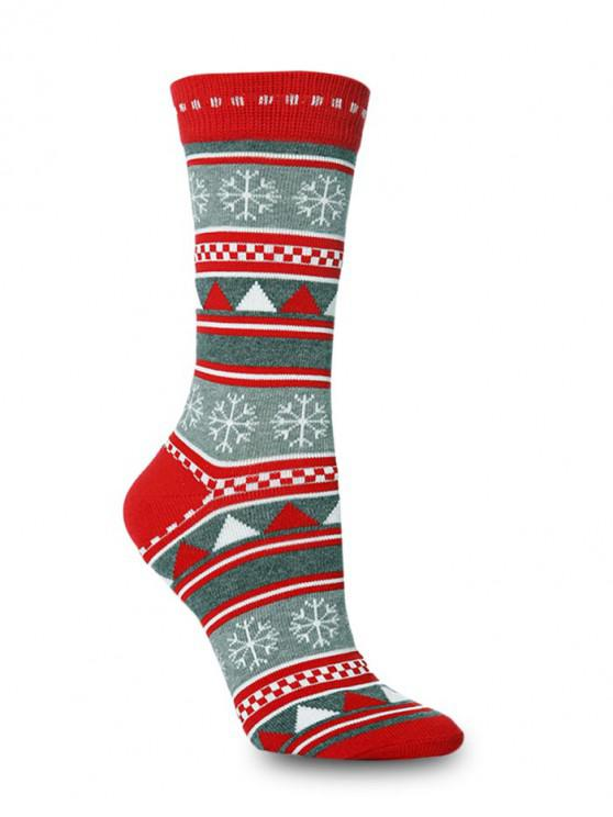 คริสมาสต์ลูกเรือธีมถุงเท้ายาว - Multi-B