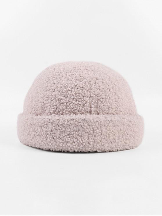 Овечка Зимняя Шляпа Шерсть - Сакура розовый