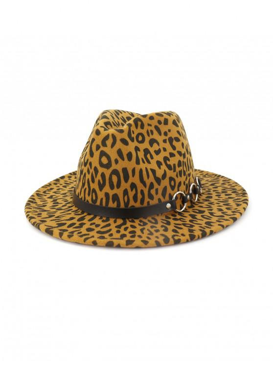 รูปแบบเสือดาวฤดูหนาวแบนปีกหมวกแจ๊ส - กากี