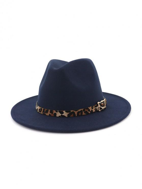 Disquete de lana del jazz del sombrero - Cadetblue