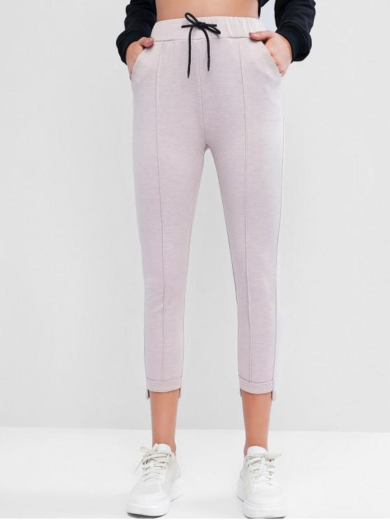 Șnurul Pantaloni cuffed Ankle - Lumina Khaki L