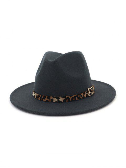 new Floppy Woolen Jazz Hat - DARK GRAY  Mobile