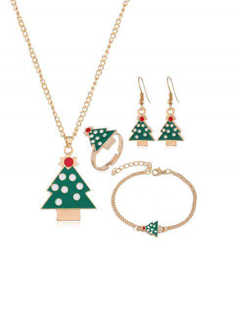 Рождественская елка и олень Ювелирные изделия - Золотой Рождественская елка Mobile