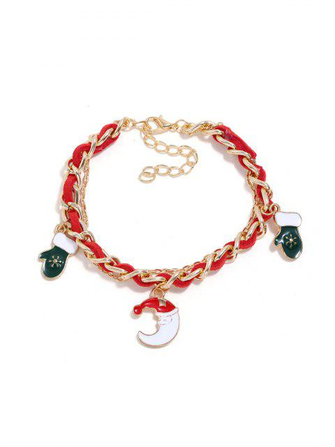 online Christmas Bell Layers Charm Bracelet - GOLD MOON Mobile