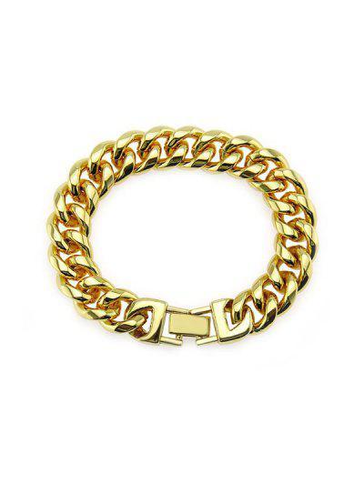 15mm Wide Hip Hop Chain Bracelet