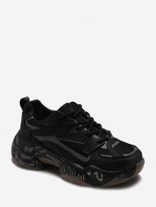 رسالة ميدسولي أعلى منخفض حذاء رياضة في الهواء الطلق - أسود الاتحاد الأوروبي 37