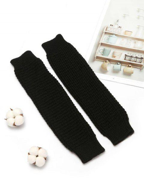 Chaussettes Trictées en Laine - Noir  Mobile