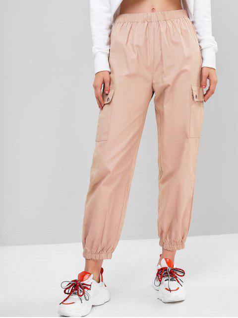 純色外套慢跑褲 - 橙色粉紅色 M Mobile