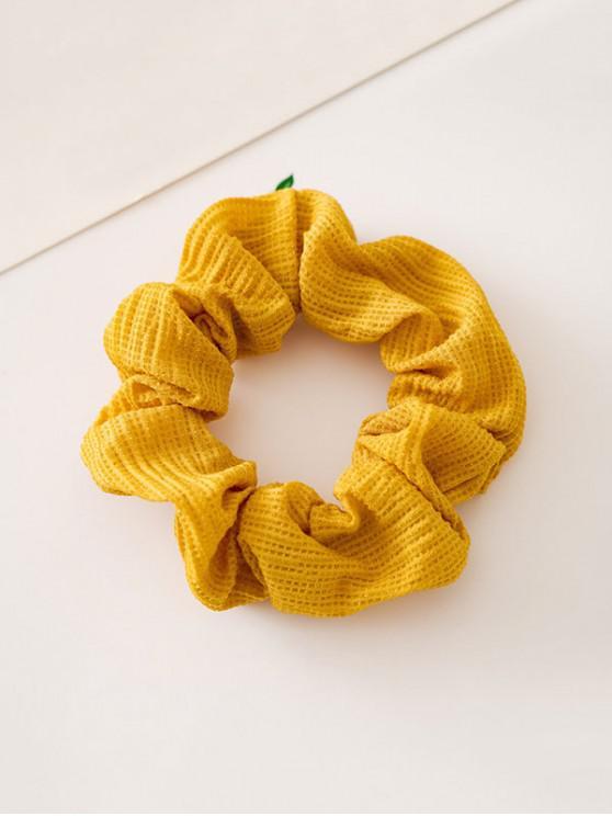 ตกแต่งของแข็งสียืดหยุ่น hairband - สีเหลืองสดใส