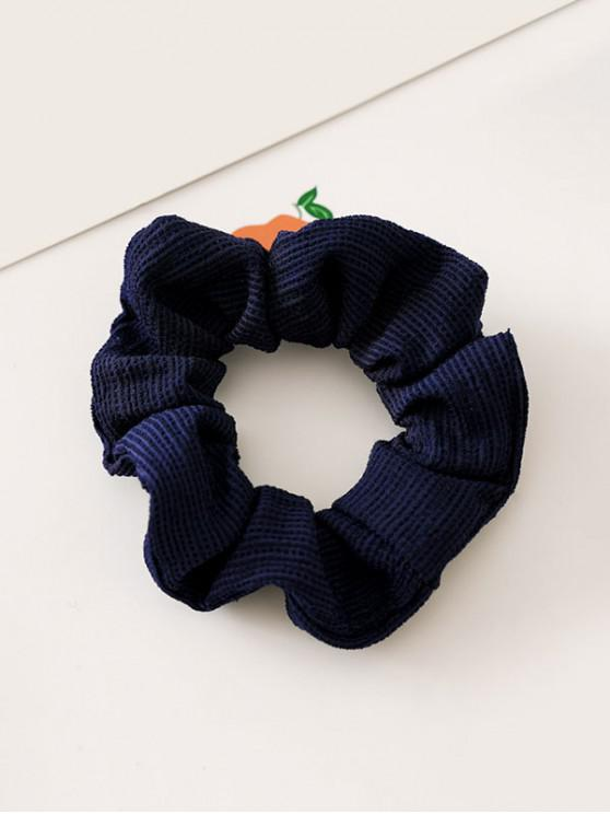 womens Solid Color Decoration Elastic Hairband - CADETBLUE
