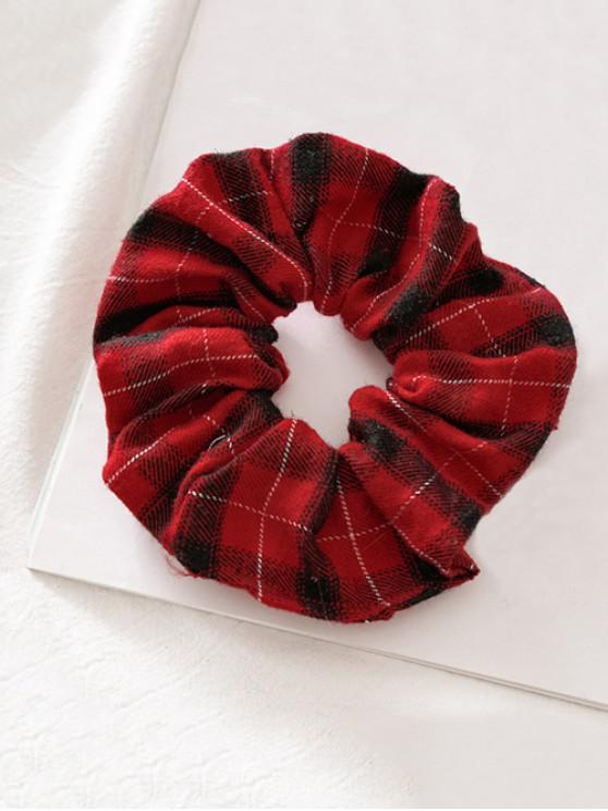 sale Fabric Elastic Scrunchie - RED