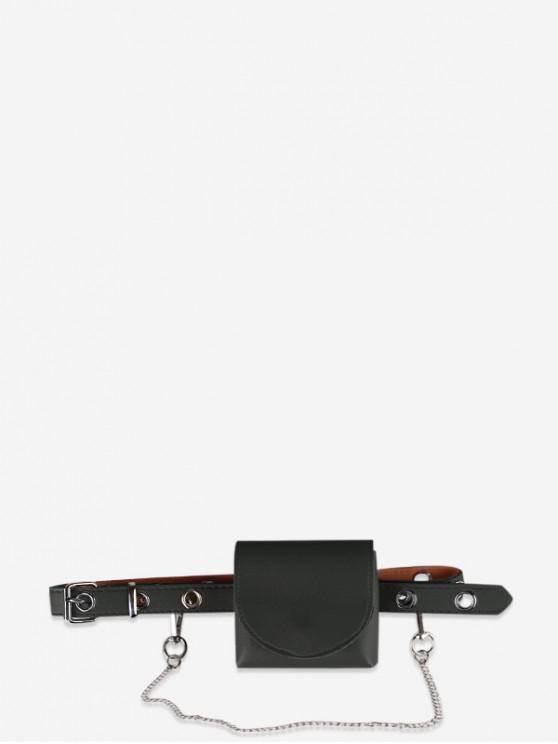 shops Cover Small Belt Waist Bag - ARMY GREEN