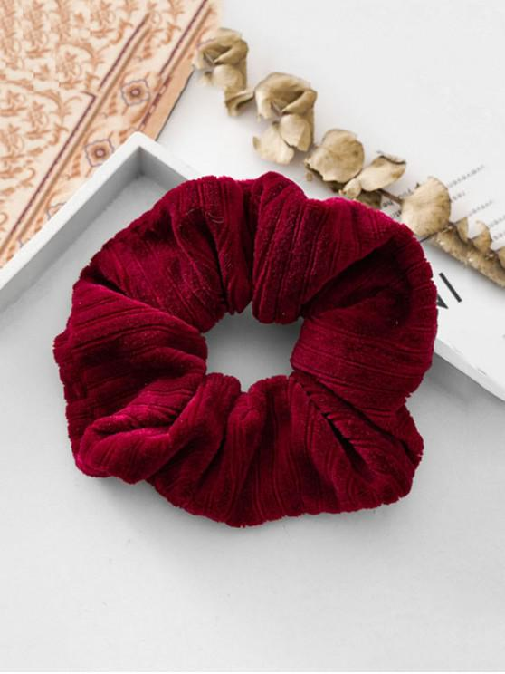 affordable Cloth Scrunchie - RED WINE