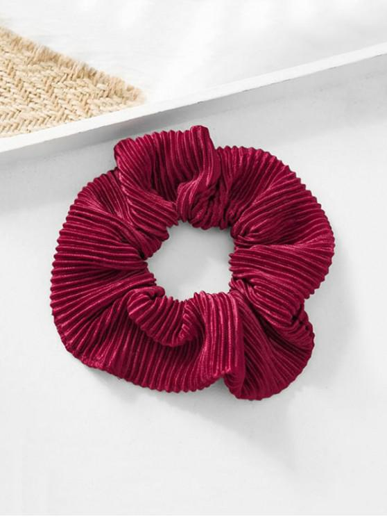 outfits Elastic Scrunchie - RED WINE