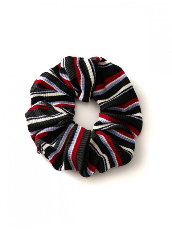 lady Fabric Elastic Scrunchie - BLACK