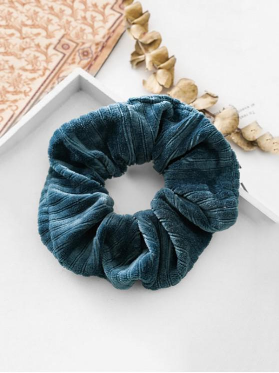 best Cloth Scrunchie - PEACOCK BLUE