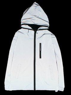 Veste Zippée Lumineuse Design - Argent S