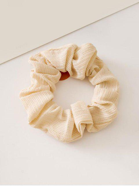 trendy Solid Color Decoration Elastic Hairband - ANTIQUE WHITE  Mobile