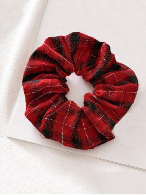 sale Fabric Elastic Scrunchie - RED  Mobile