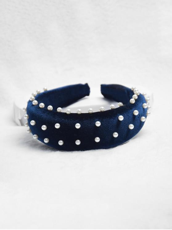 outfits Chic Faux Pearl Decorated Headband - CADETBLUE
