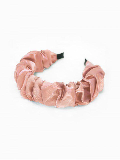 best Solid Drape Yarn Hairband - PINK  Mobile