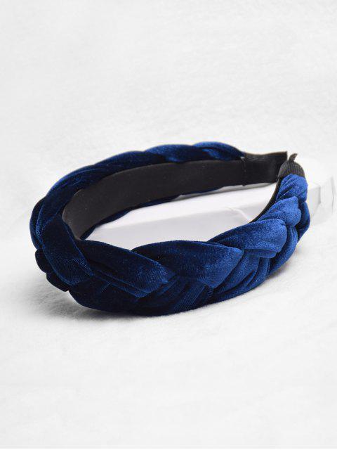 Твист Головная Повязка - Синий  Mobile