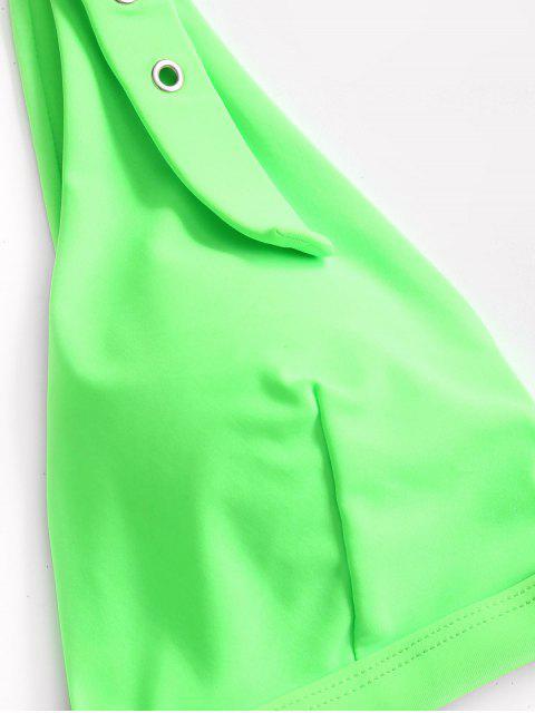 ZAFUL Ombreiras de nuvem punho de ouvido - Cor Verde-Amarelada L Mobile