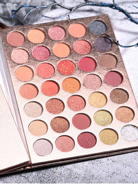 Palette de Fard à Paupière 35 Couleurs à Paillettes - Multi-A  Mobile