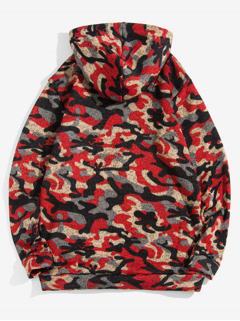 Modelo de Camo bolsillo decorado con capucha informal - ACU Camuflaje M Mobile
