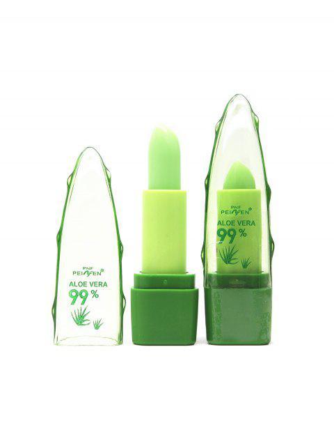 fashion Aloe Vera Plant Lips Color-changing Lipstick - TRANSPARENT  Mobile