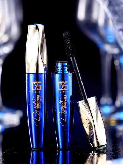 fashion Waterproof Thick Curling Lasting Mascara - BLUE  Mobile
