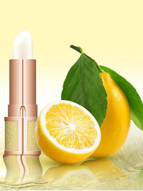hot Moisturizing Fruity Lip Balm - YELLOW  Mobile