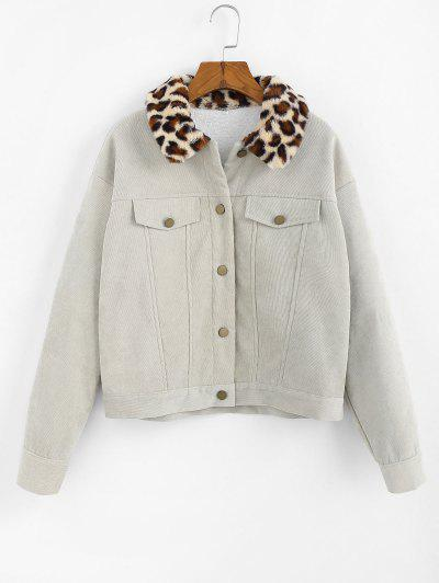 Corduroy Fluffy Jacket - from $28.99
