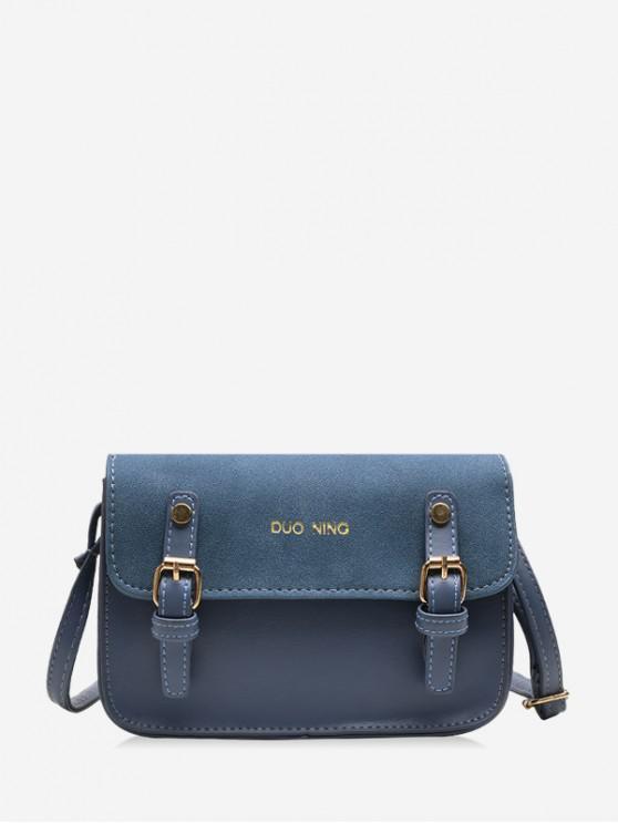 new Messenger Casual Shoulder Bag - MIST BLUE
