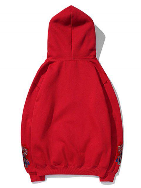 Opera de Beijing camisa de entrenamiento cara - Rojo 2XL Mobile