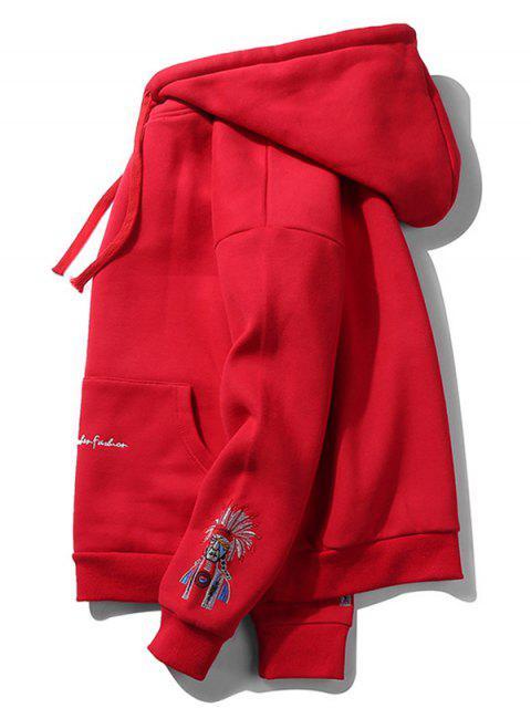 Opera de Beijing camisa de entrenamiento cara - Rojo XL Mobile