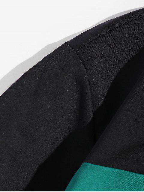 Carta Gráfica camiseta de Ocio - Negro L Mobile