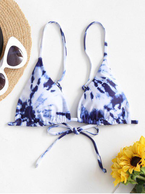 ZAFUL Bikini Acolchado de Teñido de Corbatade - Multicolor-A S Mobile