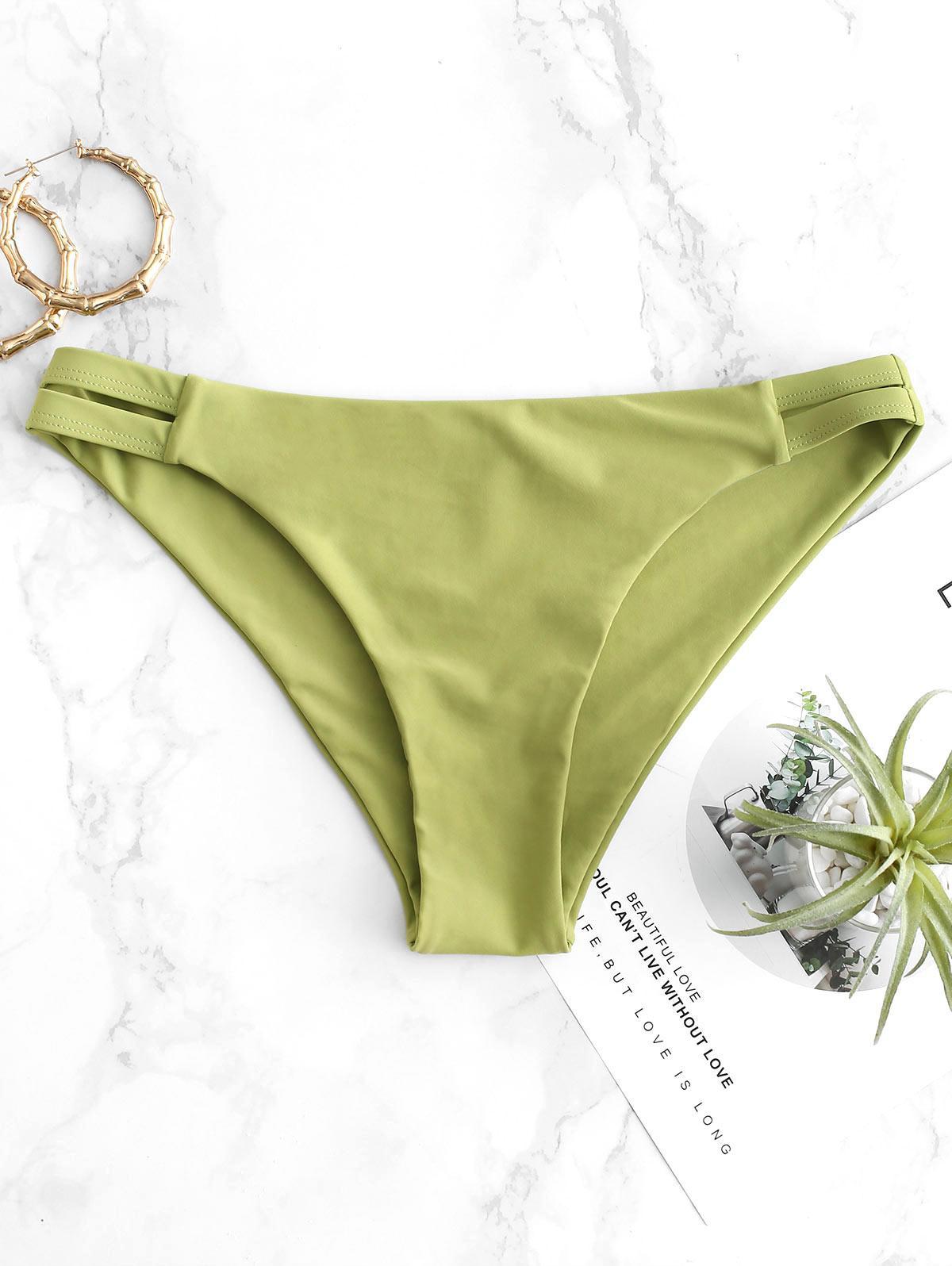 ZAFUL Cut Out Bikini Bottom