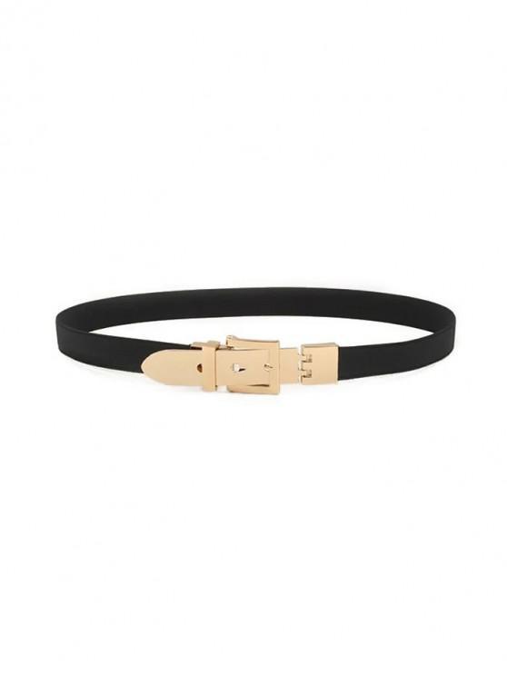 Punky elástico Diseño cintura de la correa - Negro