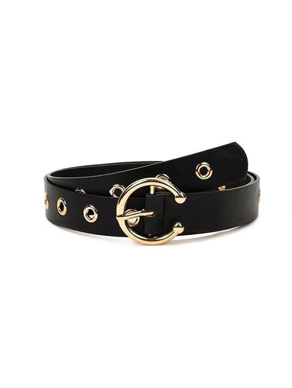 Solid Color Hollow Out Decoration Belt